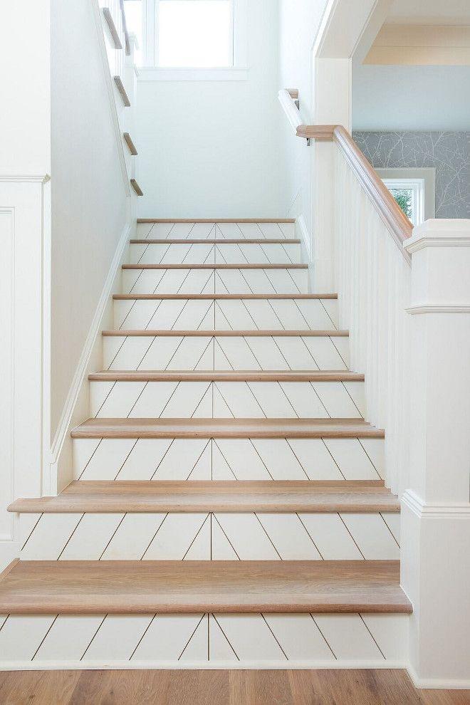 Chevron Fixer Upper Staircase Inspired HGTV
