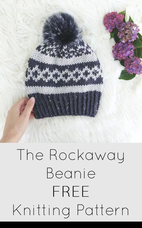 The Rockaway Beanie (Knitting Pattern) | Free Crochet patterns ...