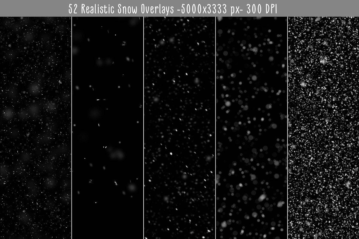 Realistic Snow Overlays Snow Overlay Photo Overlays Snow Texture