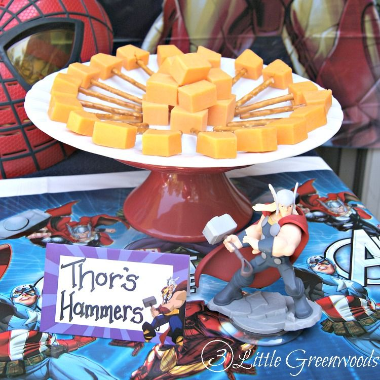 Fun Easy Avengers Party Ideas by Party planning Superhero