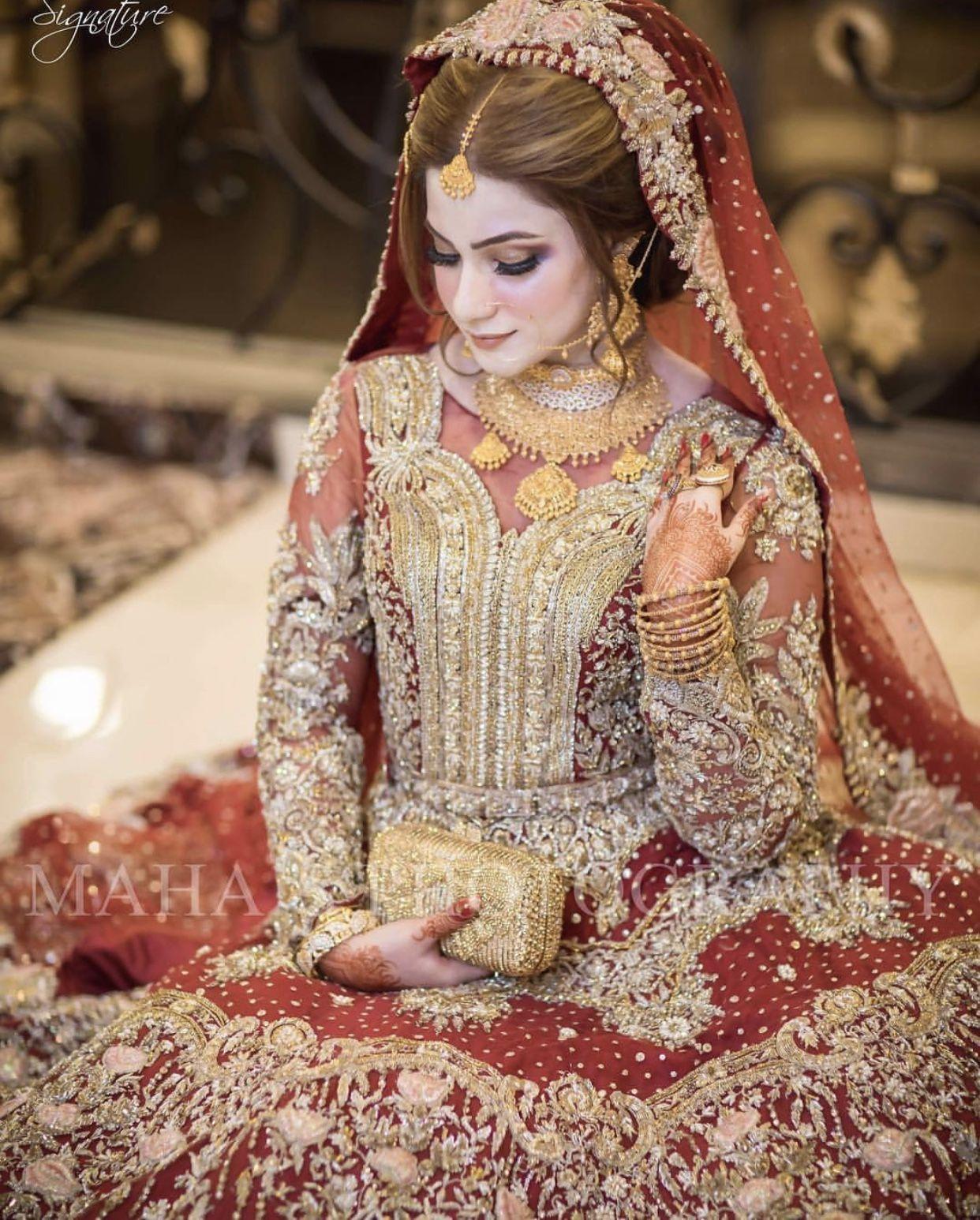 fb345816647f Pakistani Bridal Makeup, Pakistani Wedding Outfits, Indian Bridal Wear,  Bridal Outfits, Pakistan