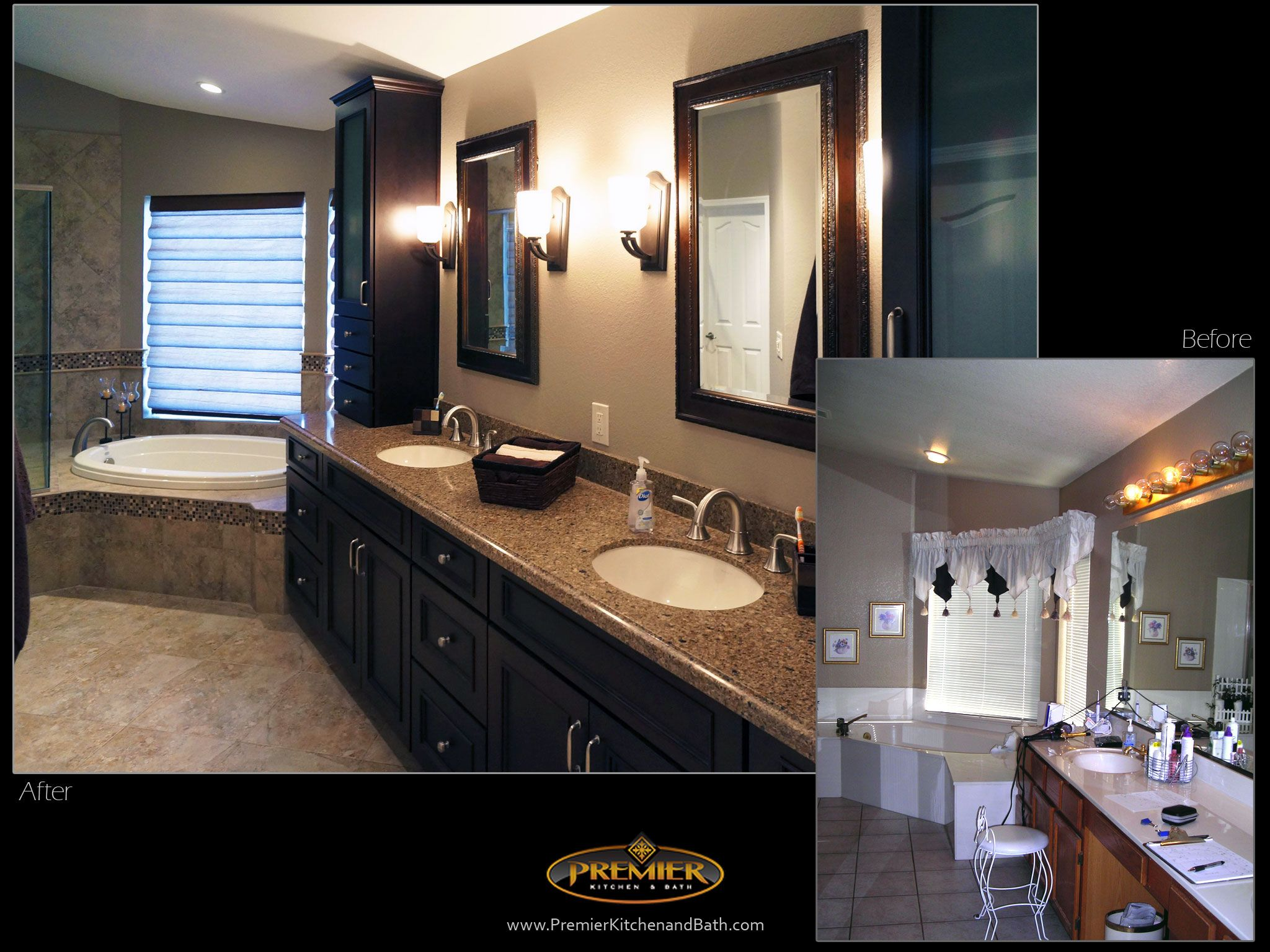 Before & After - Premier Kitchen and Bath. Quality remodeling ...