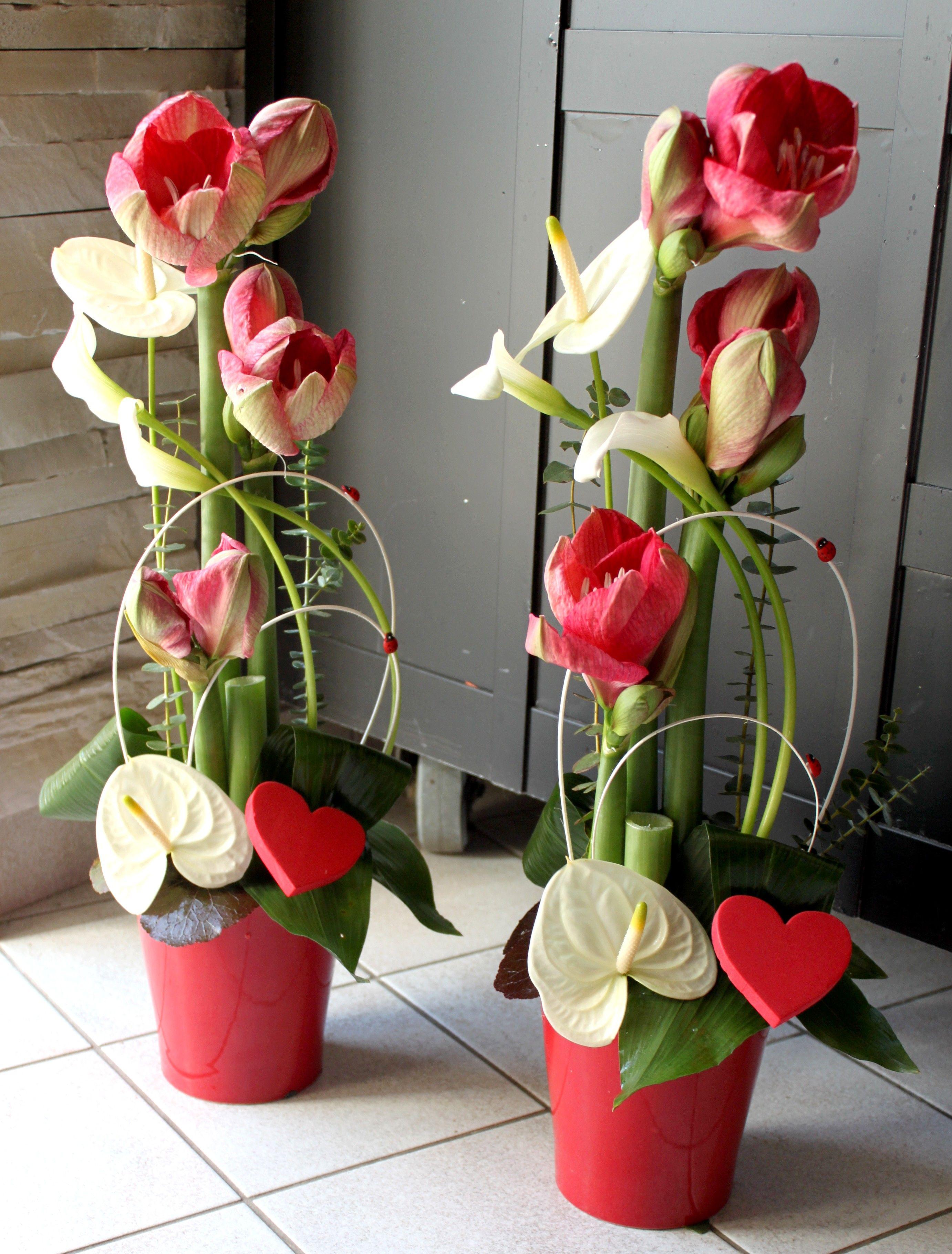 composition florale saint valentin passiflore artisan fleuriste frontonas pinterest. Black Bedroom Furniture Sets. Home Design Ideas