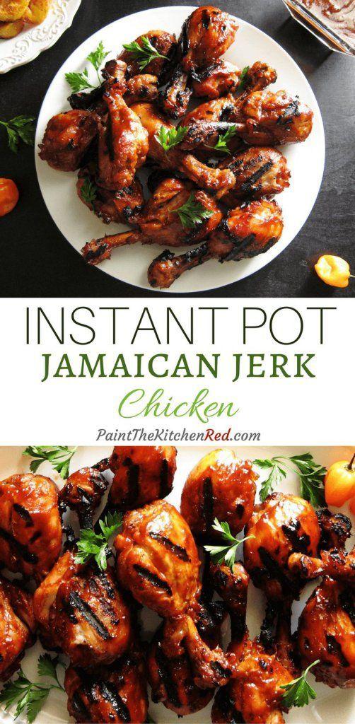 Instant Pot Jamaican Jerk Chicken Recipe Pressure Cooker