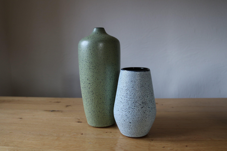 Romhild Keramik Vintage 60 70s Paar Keramik Vasen In 2020 Vintage Vase Home Decor