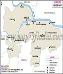 Karur River Map