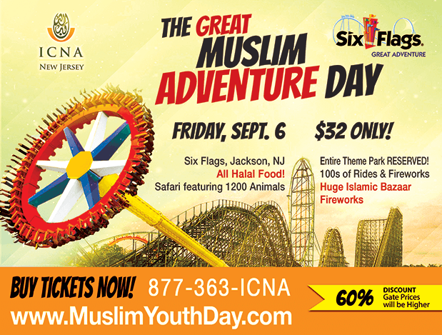 Insha Allah On Sept 6 The New Jersey Theme Park Six Flags Great Adventure Is Set To Be Transformed As Th Six Flags Great Adventure Theme Park Buy Tickets