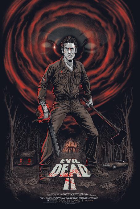 Evil Dead 2 By Gary Pullin Evil Dead Movies Ash Evil Dead Horror