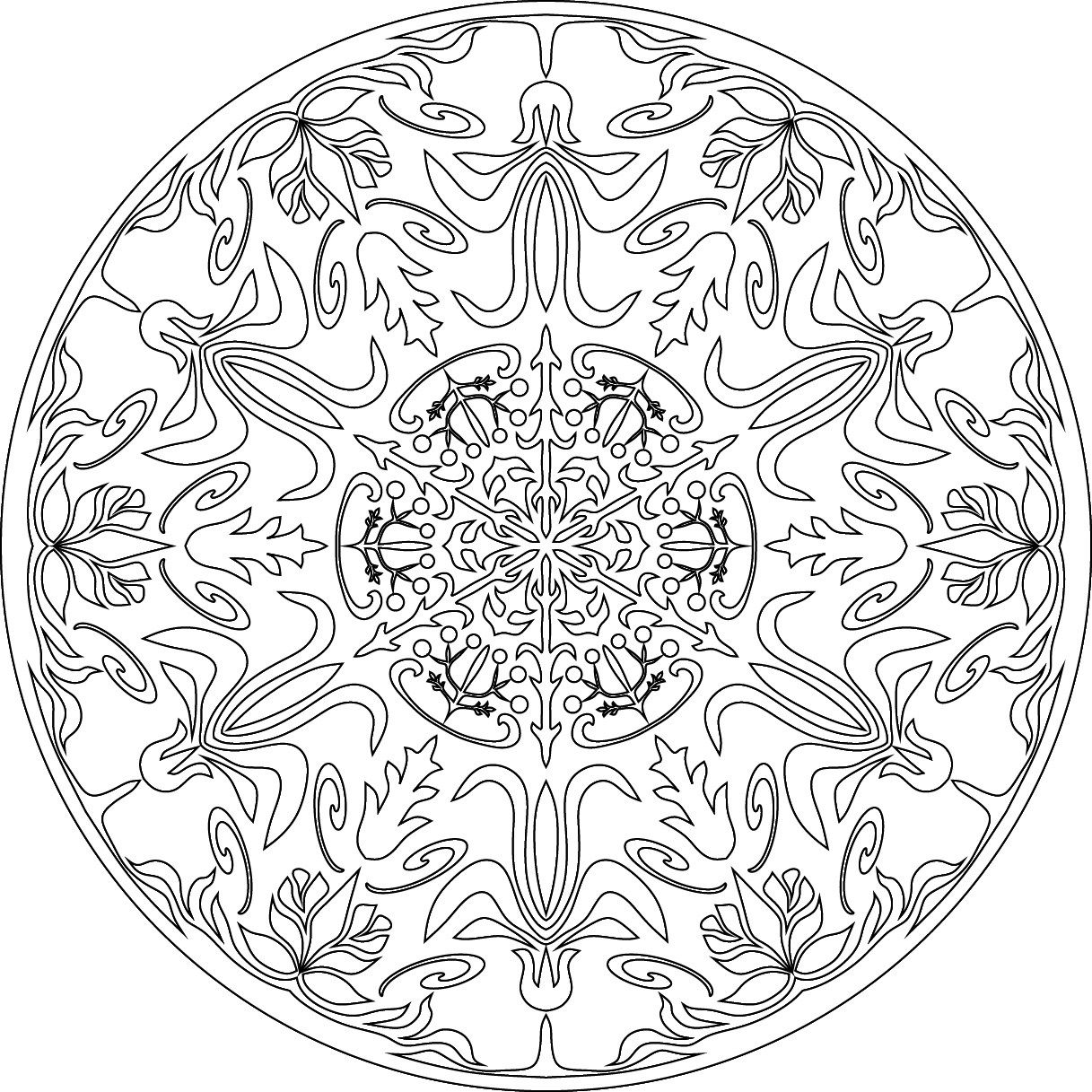 38++ Lotus flower mandala coloring pages inspirations