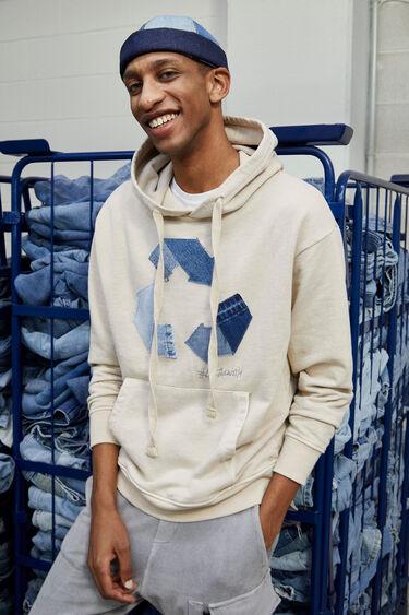 Sudadera algodón reciclado | Desigual.com