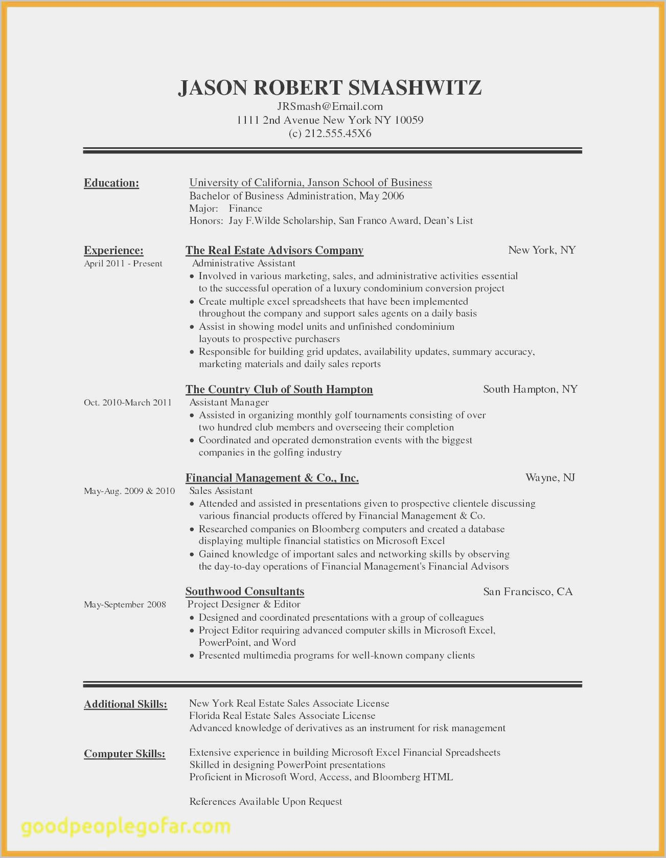 How To Make Resume In Wordpad