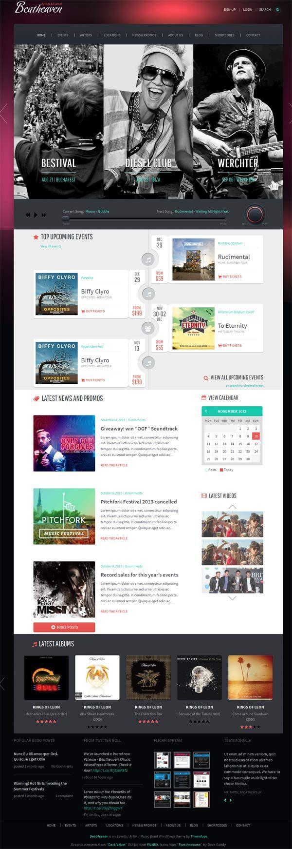 Beat Heaven WordPress Theme Review. http://www.serverpoint.com ...