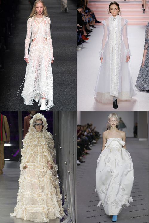 Wedding inspiration: The white dresses from Fashion Week | Vogue Paris