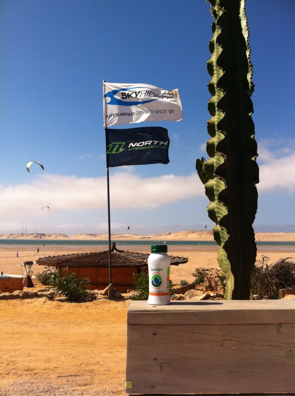 Spiralps in the desert! www.spiralps.ch Spirulina Drink #spiralps