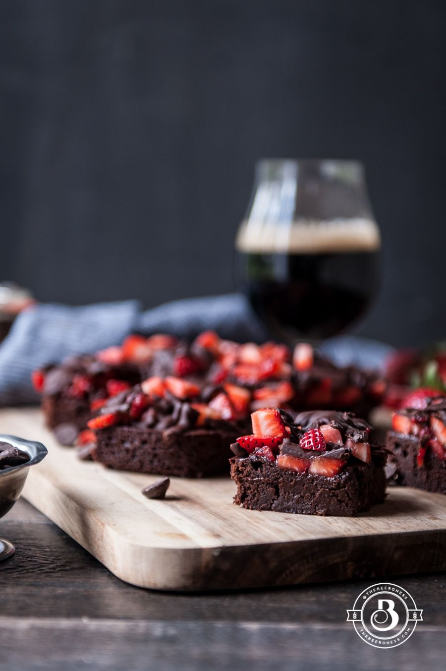 Chocolate Covered Strawberry Stout Brownies | Recipe | Cars, We ...