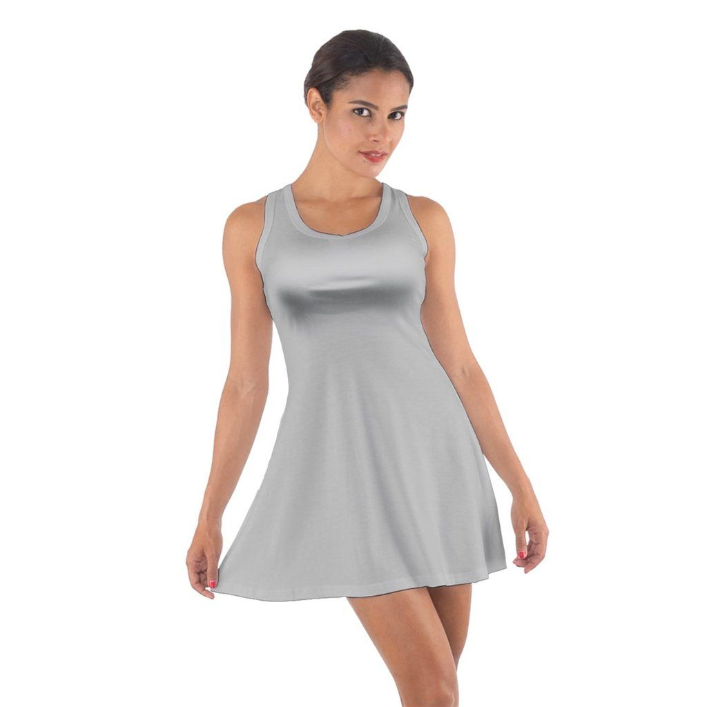 Grey Cotton Racerback Dress Racerback Dress Dresses Pink Cotton [ 1024 x 1024 Pixel ]
