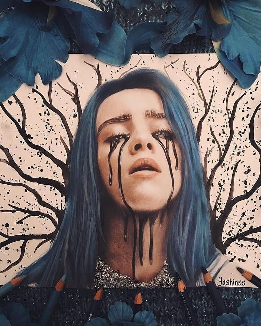Beautiful Billie Billie Eilish Portrait