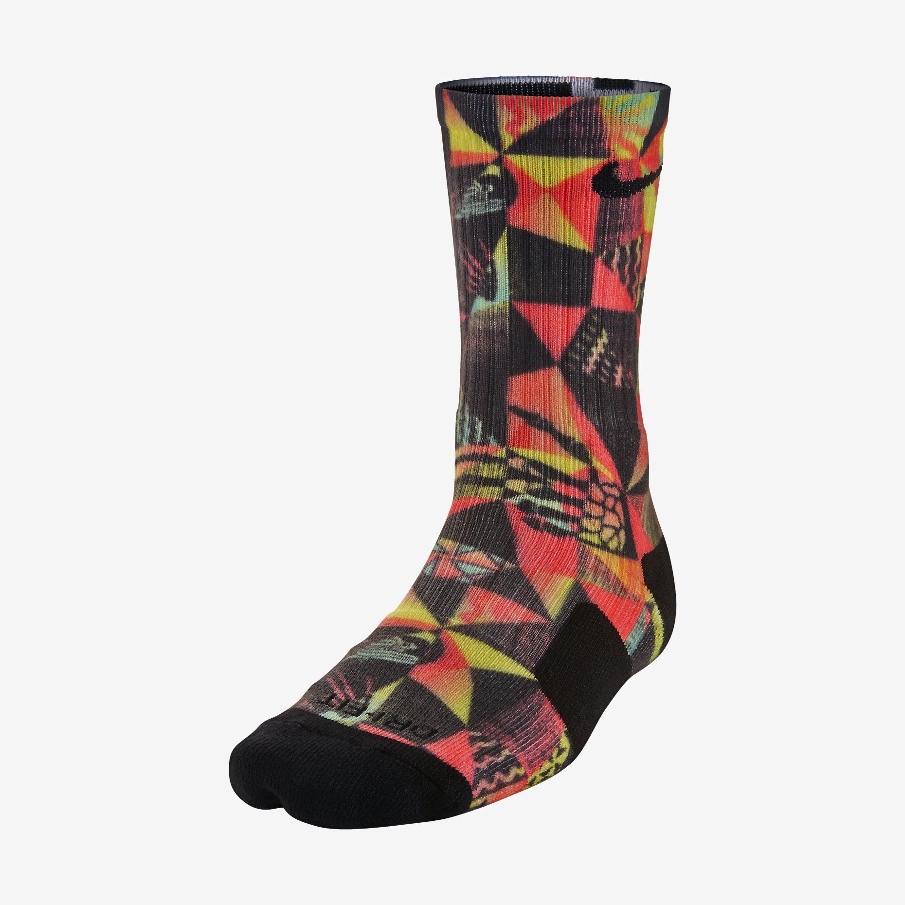 Kyrie Holiday Elite Crew Basketball Socks. Nike Store