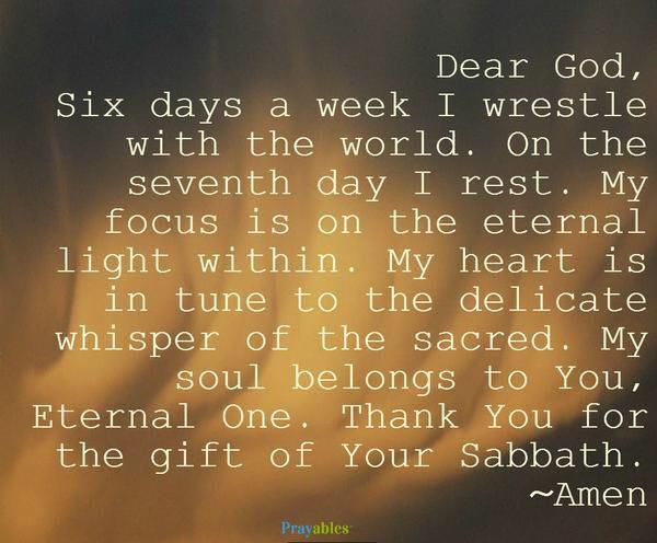 Prayers for Children's Sabbath