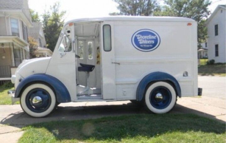 Ice Cream Trucks For Sale >> Old Timer Ice Cream Truck Ice Cream Trucks Vintage Ice