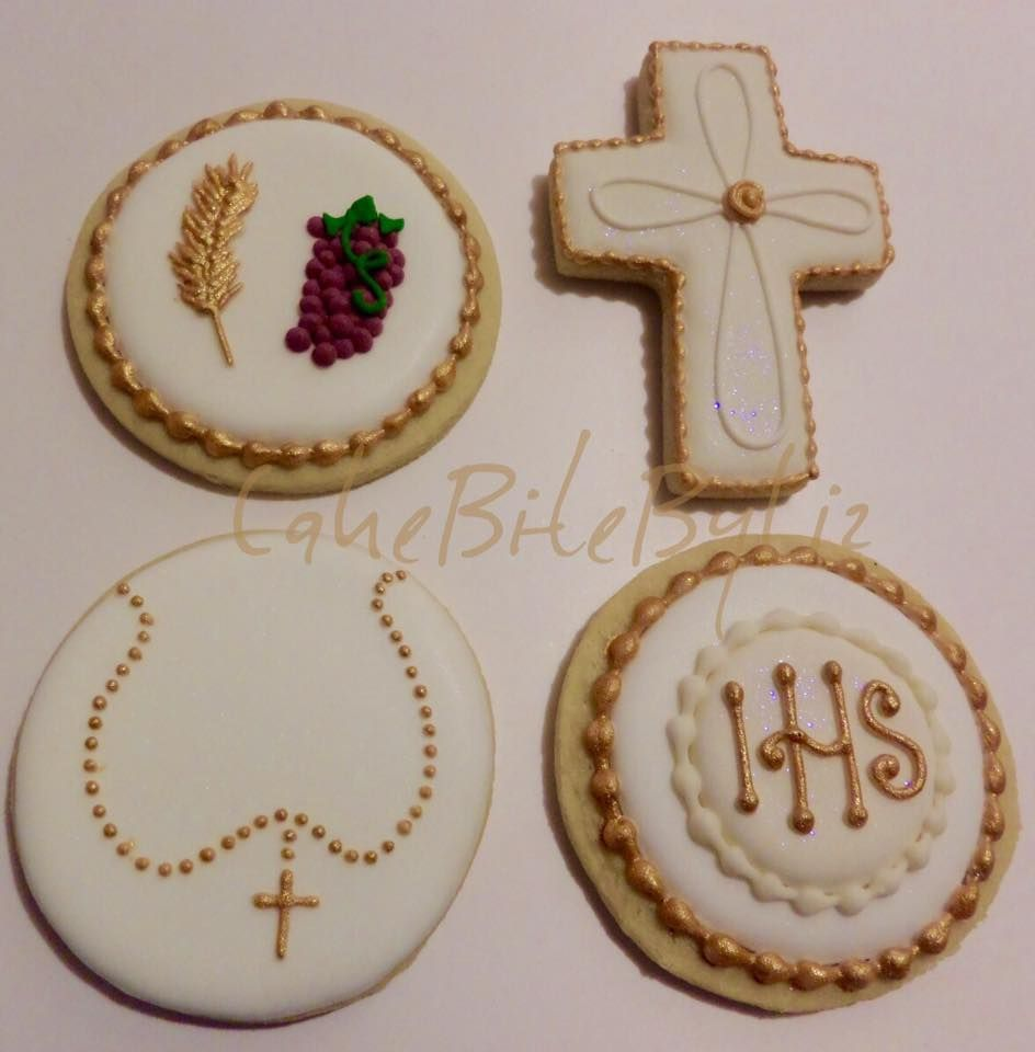 Baptism Cookies.. Loved how they turned out