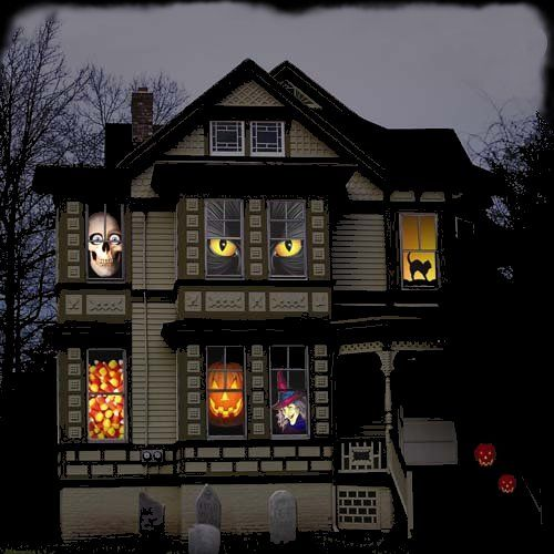 Elegant Scary House Decorations