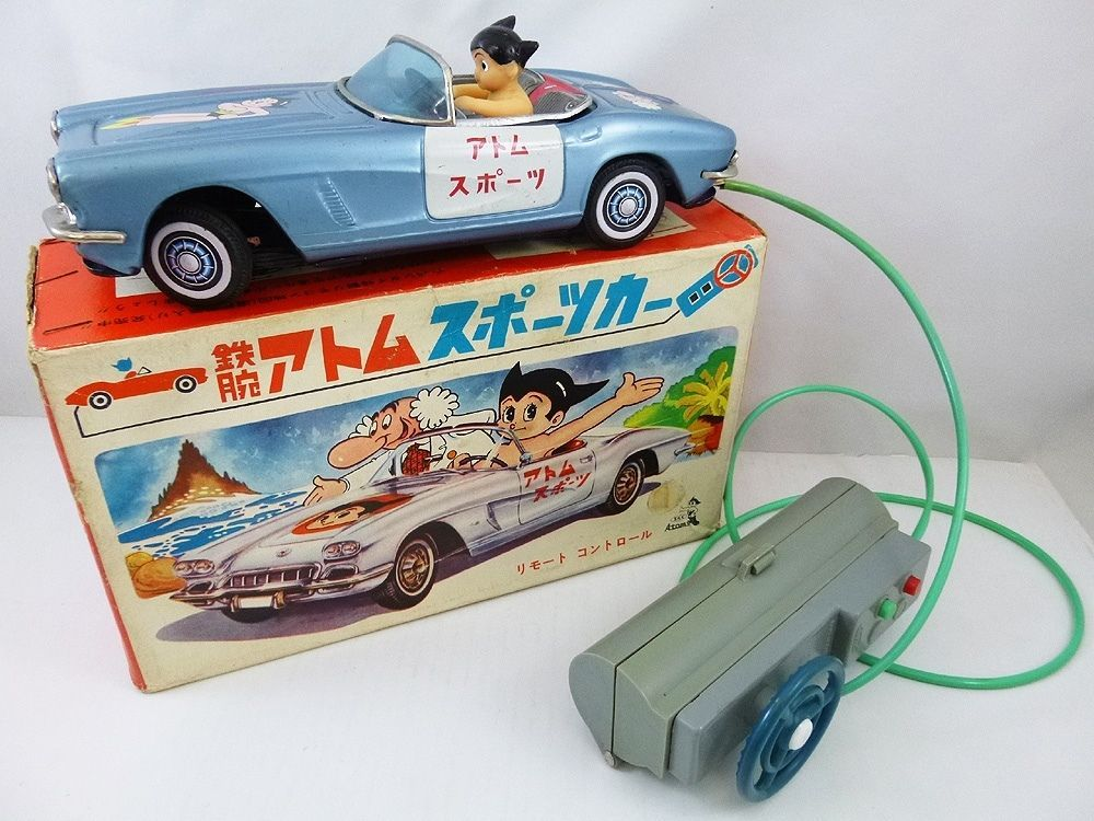 Bandai Astro Boy Car Remote Control Tin Car from 60s ebay ...