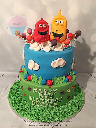 Larva Themed Cake Children S Cakes Birthday Cake