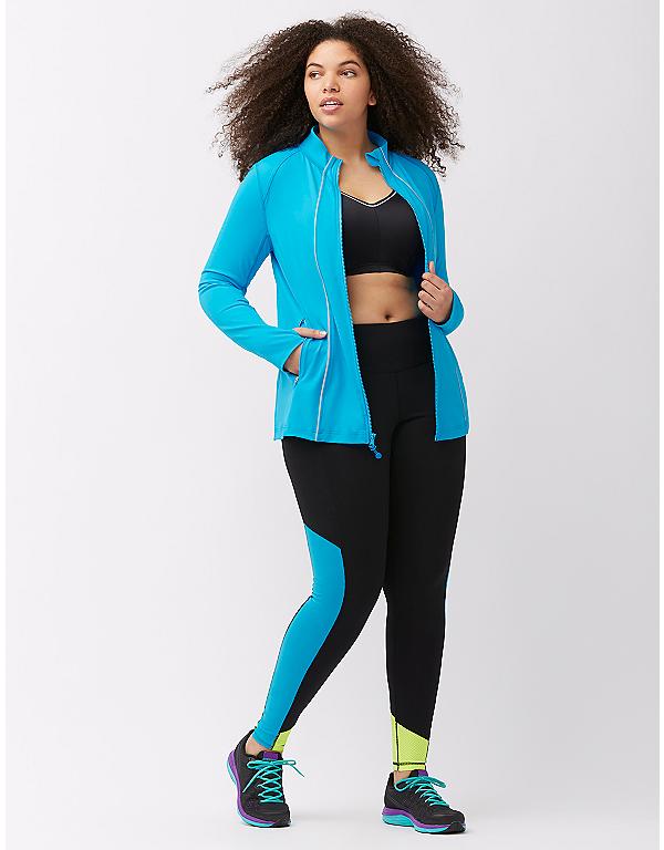 87fc60fab7 Plus size running jacket by LIVI ACTIVE | Lane Bryant | Plus Size ...