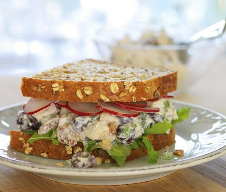 """extreme makeover"" chicken salad sandwich         Extreme Makeover Chicken Salad Sammy Recipe  