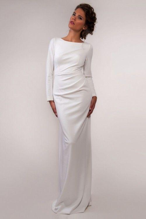 79bf4a5eb9 Suknia ślubna prosta i elegancka
