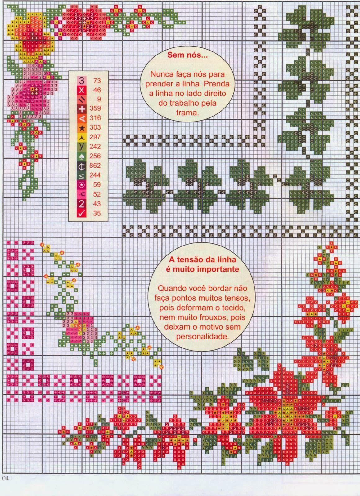 PATRONES PUNTO DE CRUZ GRATIS: Gráficos de algunas esquinas a punto ...