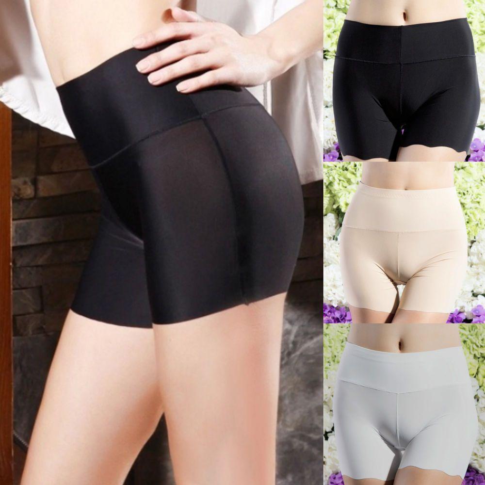 3b81ac505beeb Women Safety Shorts Pants Leggings Seamless High Waist Plain Elastic  Underwear #Unbranded #Briefs #