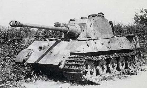 Tiger Ii Number 312 3 Kompanie Schwere Ss Panzer Abteilung 501