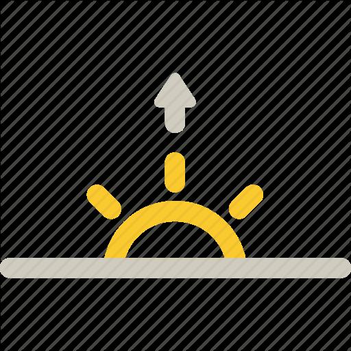 Morning Rising Sun Sunrise Icon Download On Iconfinder Icon Sunrise Wedding Card Design