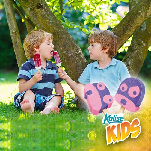 Hoy, 30 de julio es el día de la amistad. ¡El día perfecto para repartir 'Kalise para todos' entre tus hijos y sus amigos!