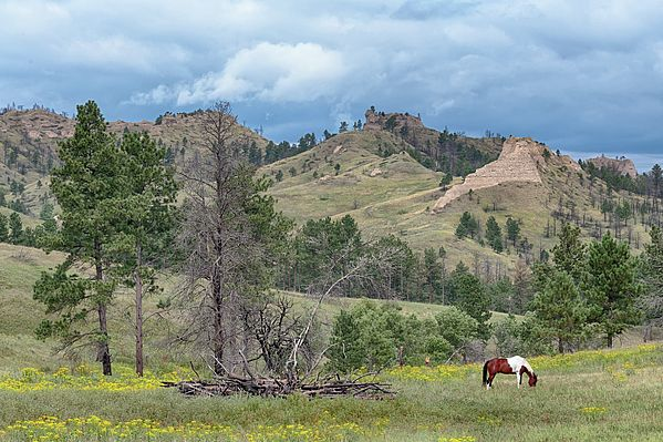 Chadron State Park Map on