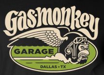 Gas Monkey Garage Fast N/' Loud Logo Dallas Texas TV Show Men/'s T Shirt 4 COLORS