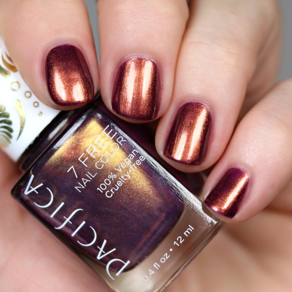 New Pacifica Metallic Nail Polish | Metallic nails, Beauty nails and ...
