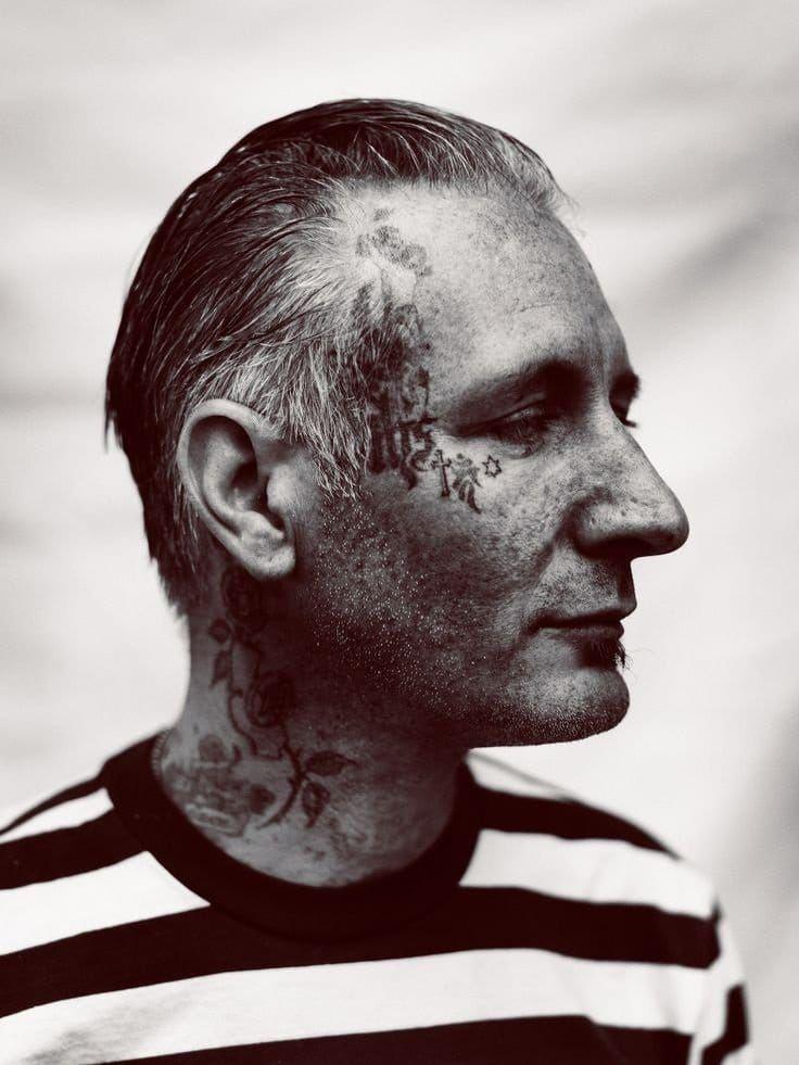 Freddy corbin kanji under eye tattoo httpswww
