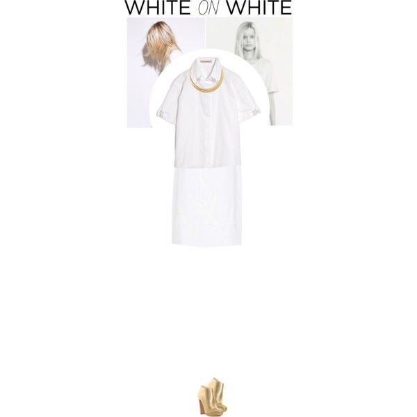 White On White, created by fashi0nismypassi0n on Polyvore
