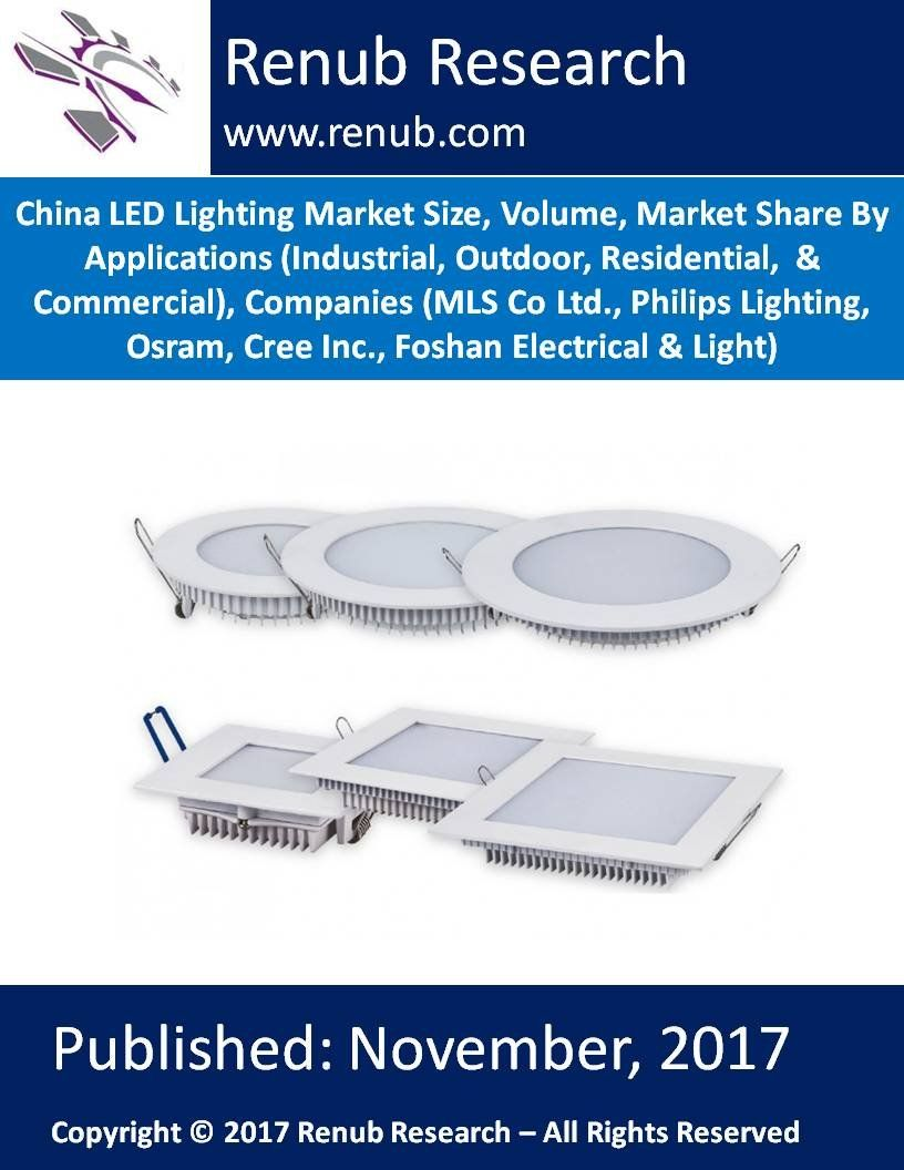 China Led Lighting Market Is Expected To Surpass Us 24 Billion By