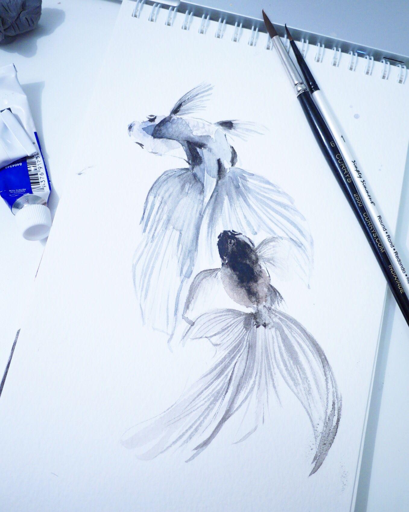 Watercolor tattoo flash art pinterest watercolour tattoos and
