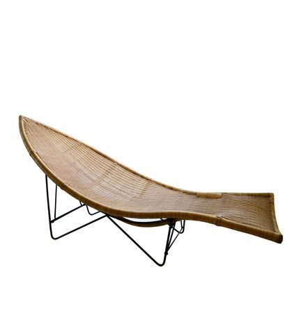 wicker fish shaped chaise lounge 1950s chaise lounges