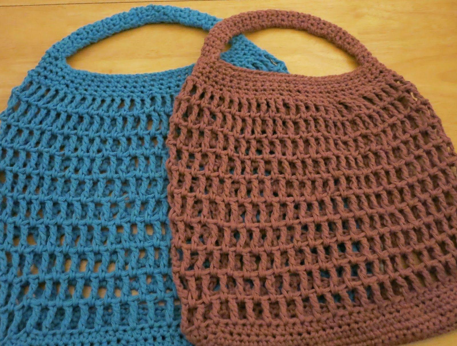Crochet Market bags Free pattern-Da\'s Crochet Connection ...