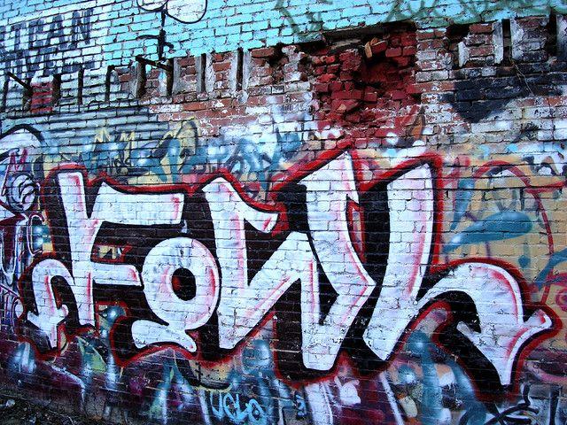 Asheville Graffiti by Fowl - photo by @ZenSutherland #avlpics