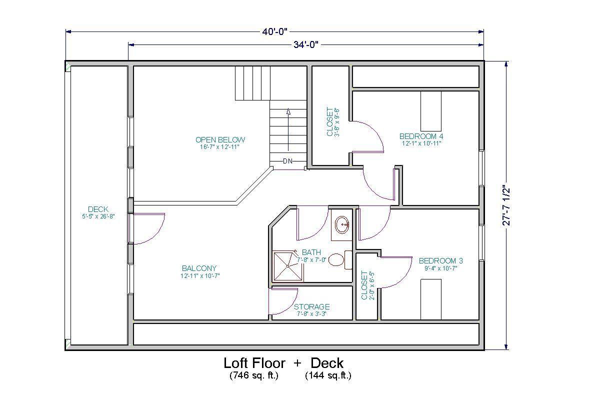 fresh house floor plans with loft check more at httpwwwjnnsysy - Balcony Loft House Plans