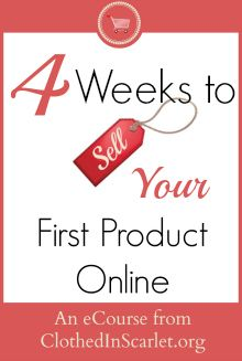 Do you want to create and sell your first product online this year? I walk you through all the steps in my video eCourse that starts at just $1!!