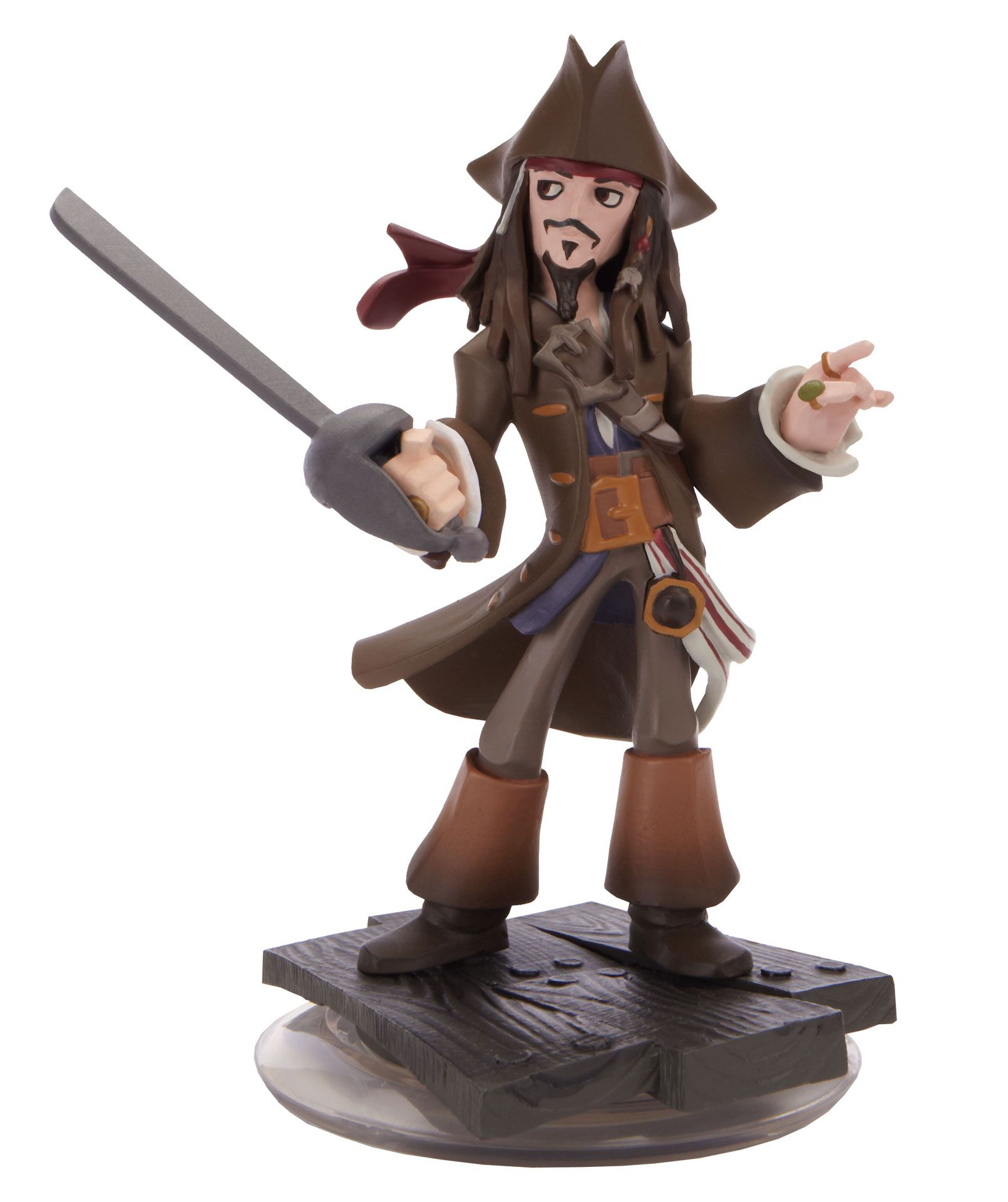 Disney Doppelgangers Pirates Edition: Captain Jack Sparrow Figure