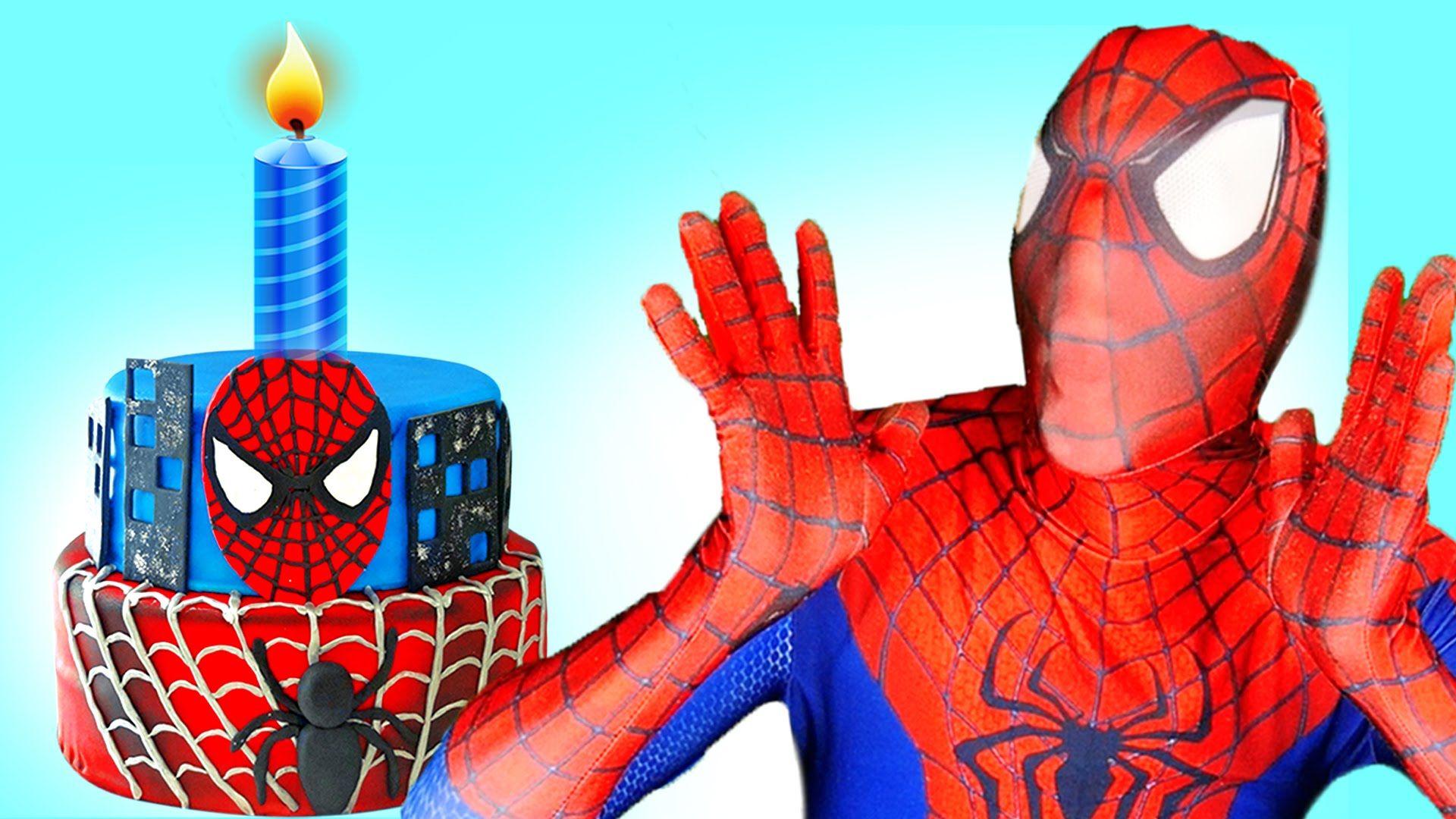 Spiderman Bday - Amazing Invitation Template Design by Corrupedia